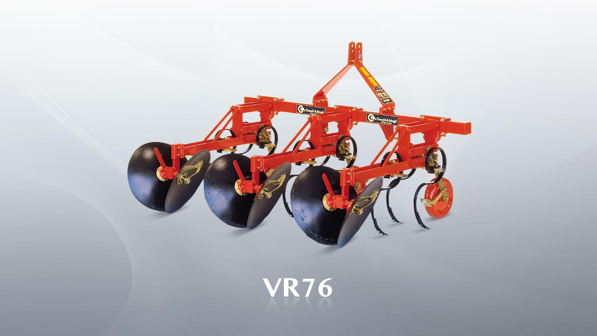 Renchausseur à disques Checchi & Magli VR76
